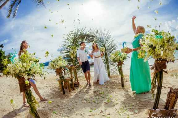 Wedding At The Secluded Beach Et Thailand Package From Intropics Destination Weddings Destinationsall Inclusiveet