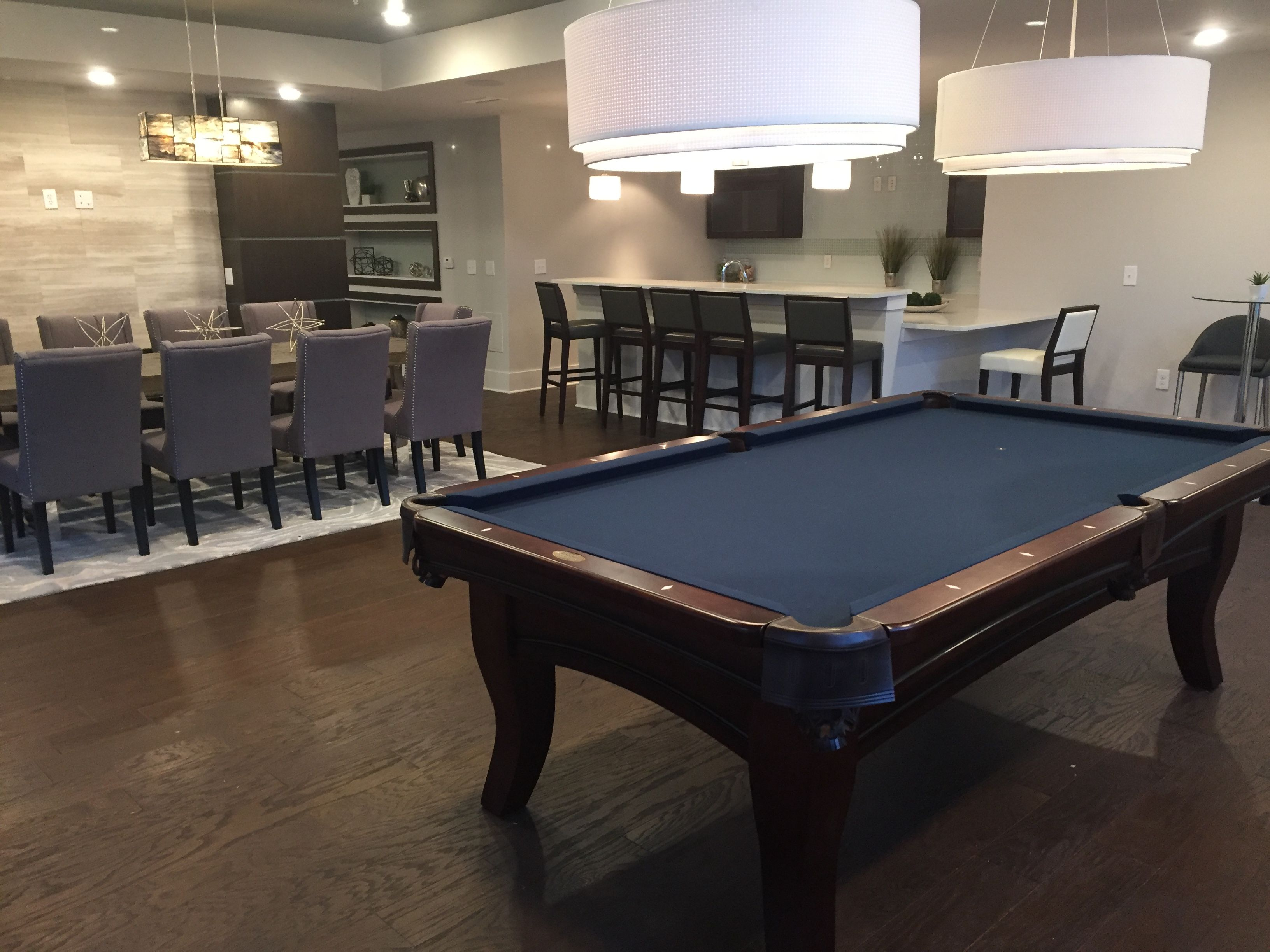 Man Cave Store Charlotte Nc : Olhausen chicago pool table installed by everything