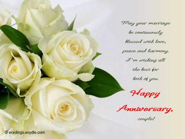 Happy anniversary messages wishes and wordings wordings and messages