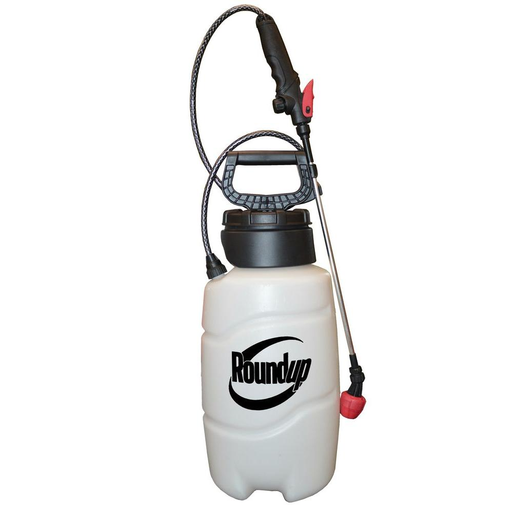 Roundup 2 Gal All In 1 Multi Nozzle Sprayer For Popcorn Removal Sprayers Pest Control Lawn Pest Control