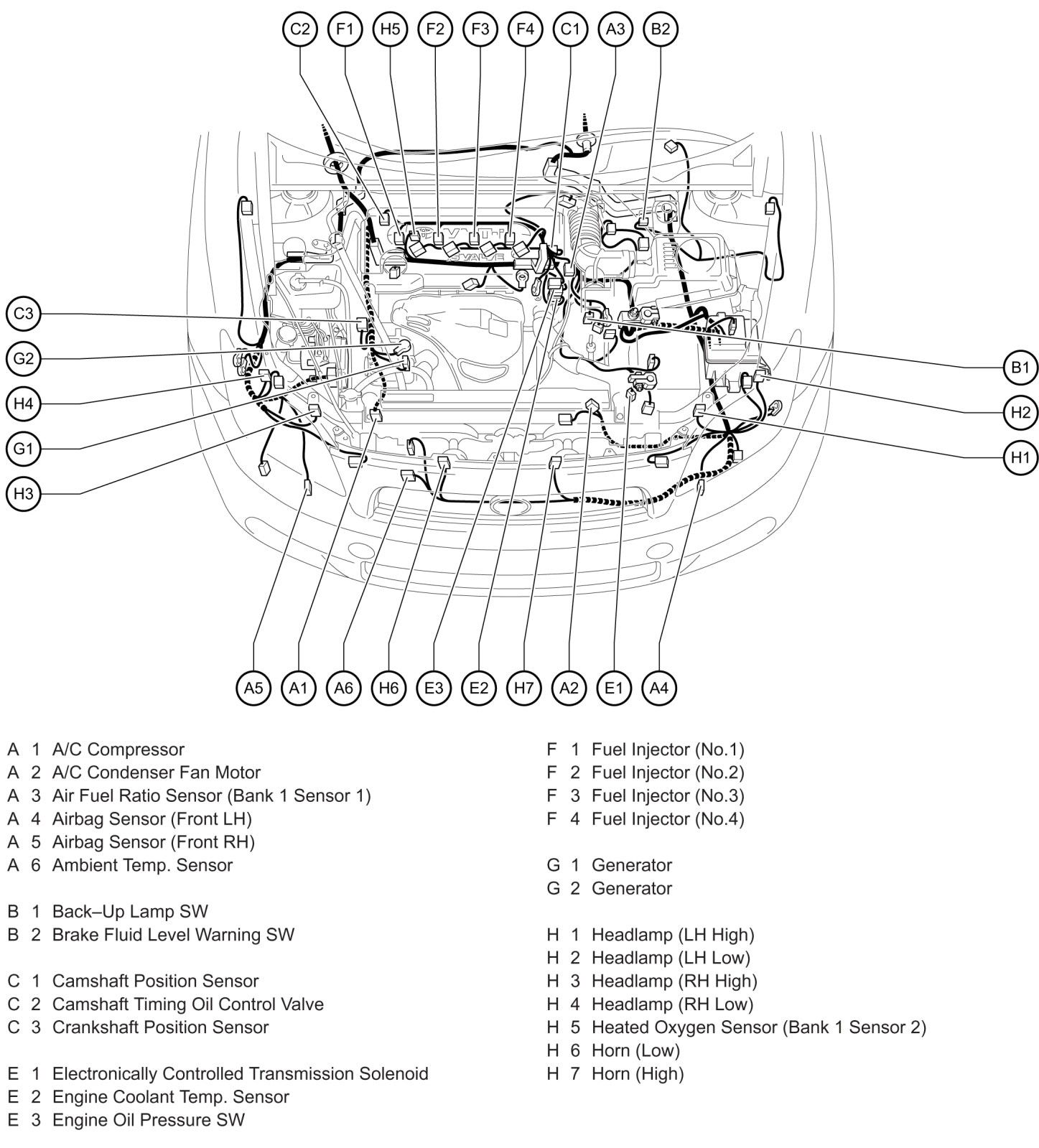 [DIAGRAM] 2006 Scion Xb Wiring Diagram Parts