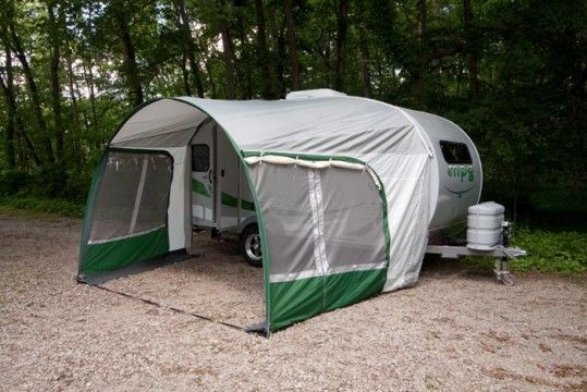 Heartland Mpg Trailer With Awning Camping Hiking Equipment