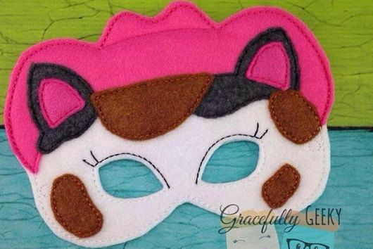 Sheriff Callie Dress Up Mask by TinksForTheMemories on Etsy Fiesta Vaquera 0ef7f07e8a4