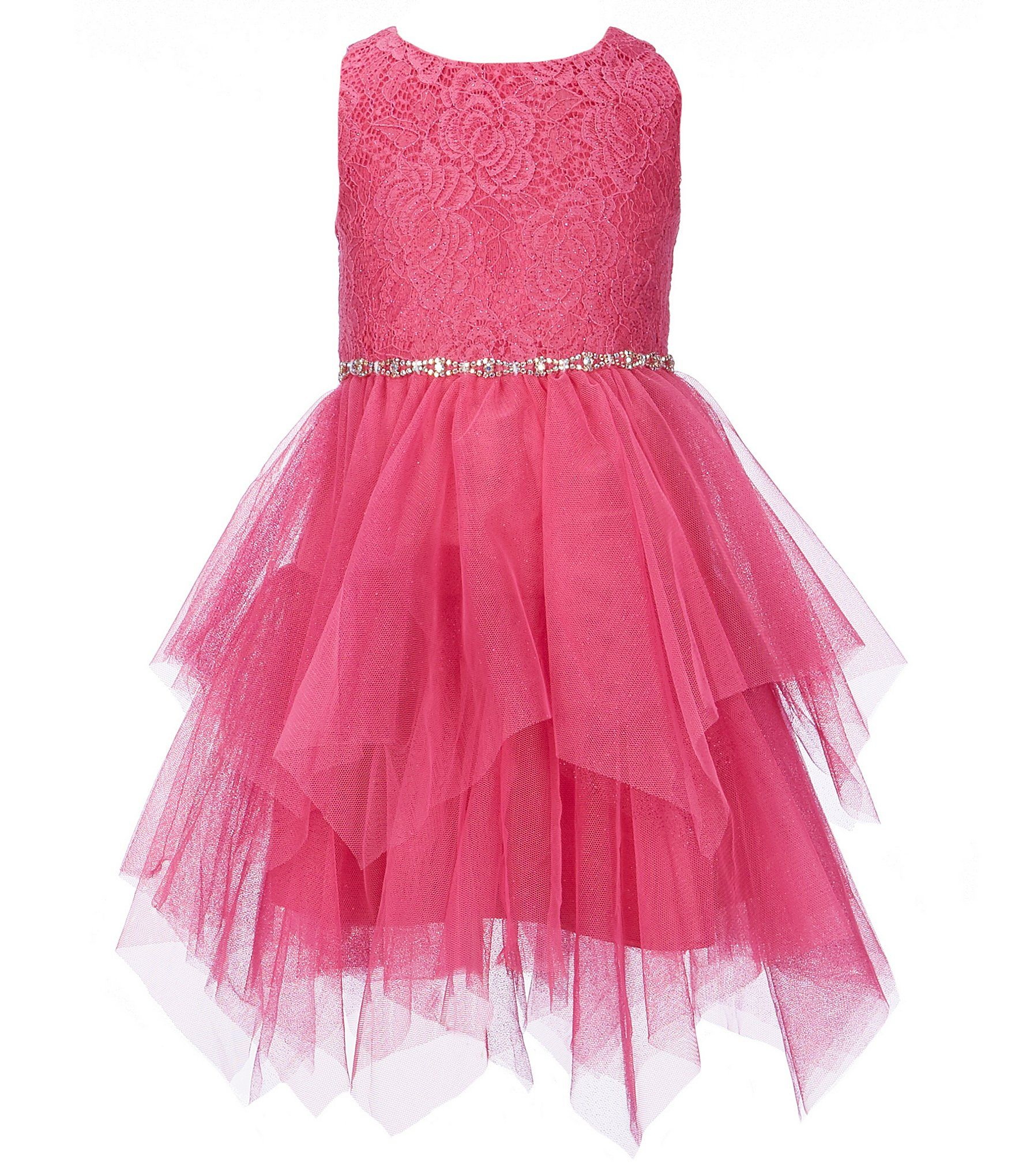 51c6a3388c5d Shop for Rare Editions Little Girls 2T-6X Glitter Lace Fairy Hem Dress at  Dillards.com. Visit Dillards.com to find clothing, accessories, shoes, ...