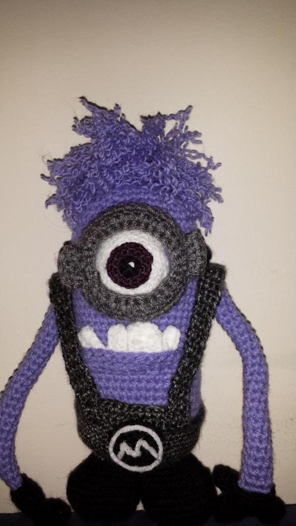 Evil Minion Crochet | Crochet Ideas | Pinterest