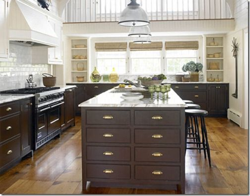 mixing metals in home decor Brass kitchen Kitchen cabinet