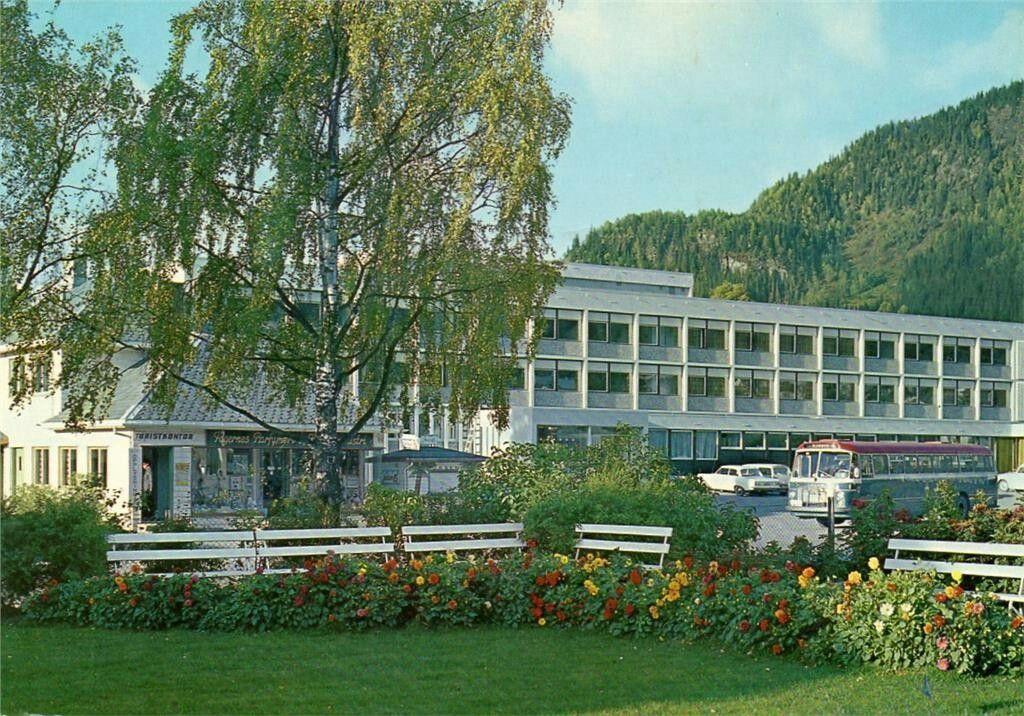 Oppland fylke Nord-Aurdal kommune i Valdres Fagernes Hotell 1960-tallet