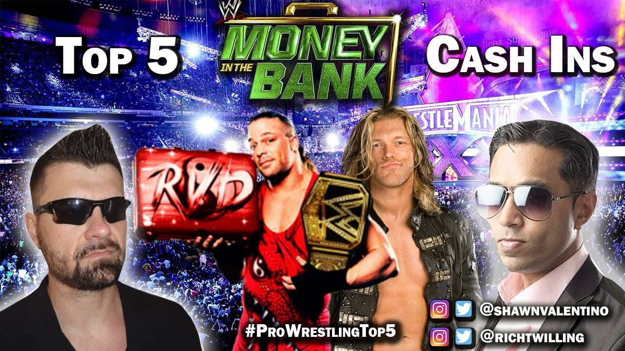 So much pileup vintage pro wrestling logos - Top 5 Wwe Money In The Bank Cash Ins Pro Wrestling Top 5 Episode 2