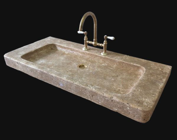 45 Kitchen Sink Ideas for your Dream House Sinks, Kitchens and House - evier cuisine en pierre
