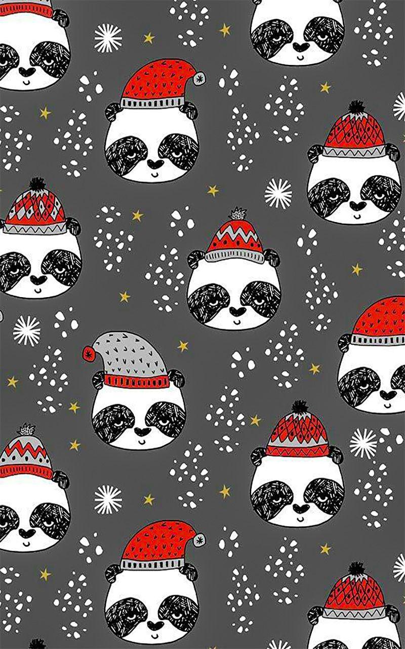Cute Panda Wallpaper For Android Wallpaper Iphone Christmas Christmas Phone Wallpaper Cute Christmas Wallpaper