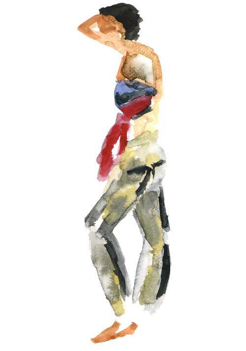 Watercolor: Victoria Monasterio