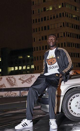 Adidas Originals By Nigo 2015 Fall Winter Lookbook Featuring Stormzy Sneakers Men Fashion Streetwear Men Outfits Mens Streetwear