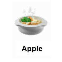 Pot Of Food Emoji In 2020 Food Food And Drink Hot Meals