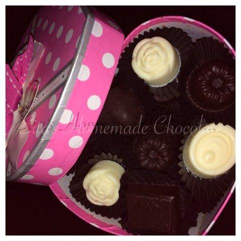 Eita's Homemade Chocolate: Chocolates in LOVE box