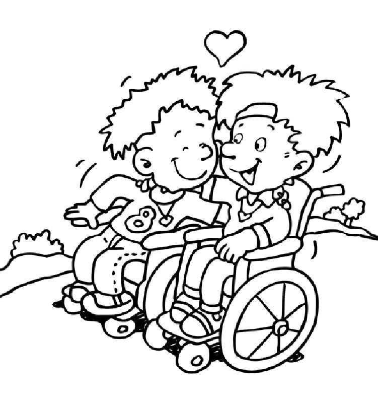 Different Abilities Coloring Pages Coloring Pages Doodle People Coloring Books