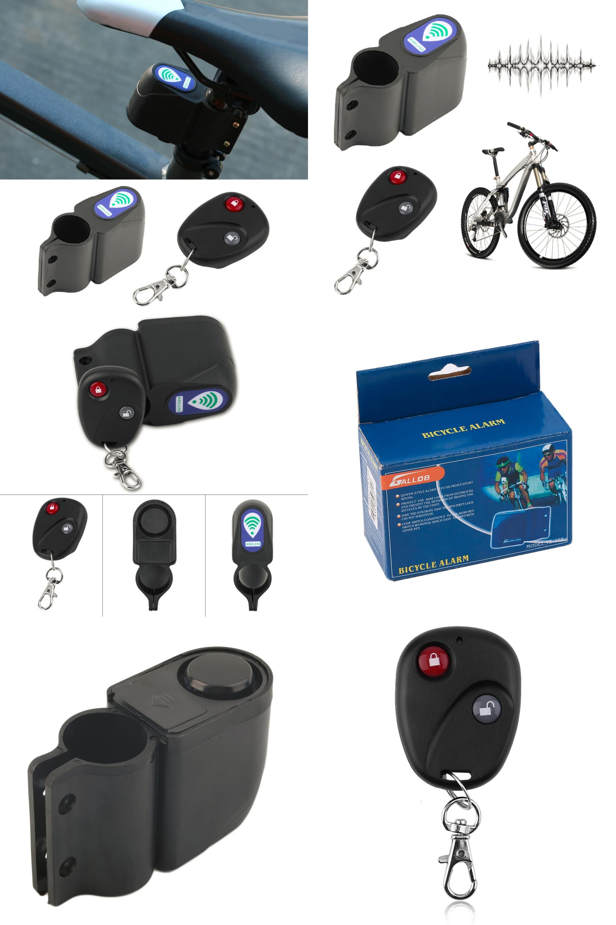 Sound Bike Password Cycling Anti-theft Lock Bicycle Accessories Alarm Warning