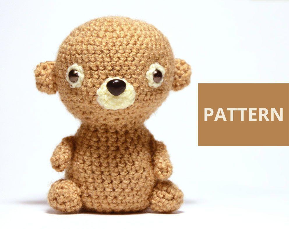 Easy Amigurumi Bear Pattern : Bear amigurumi pattern amigurumi teddy bear crochet pattern stuffed