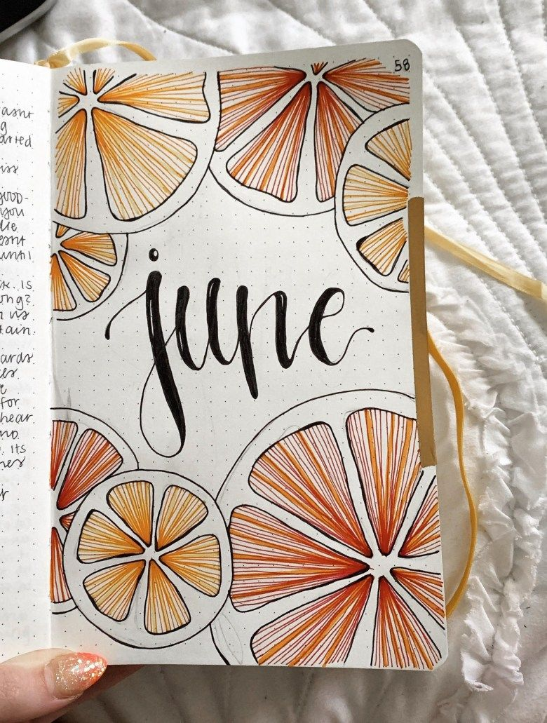 30 June Bullet Journal Ideas You'll Love - Its Claudia G