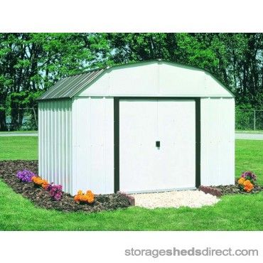 If You Want A Big Shed For A Small Price Then The Arrow Concord 10x14 Metal Shed Will Fit The Bill Backyard Storage Sheds Backyard Storage Metal Storage Sheds