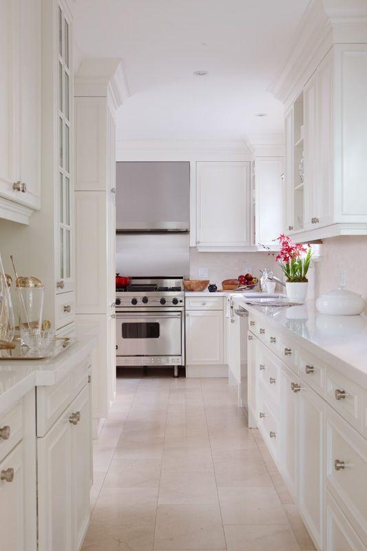 Crisp clean classic white kitchen kitchen pinterest for Classic kitchen cabinets toronto