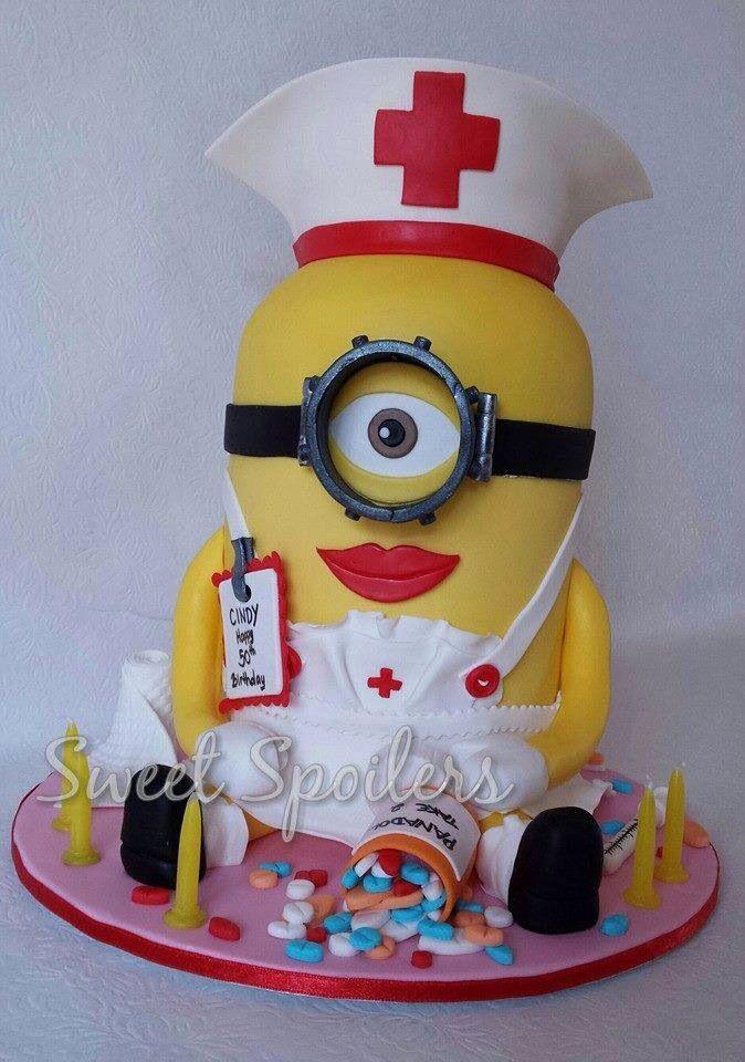 Minion Nurse Cake Doctor Cake Cake Cupcake Cookies