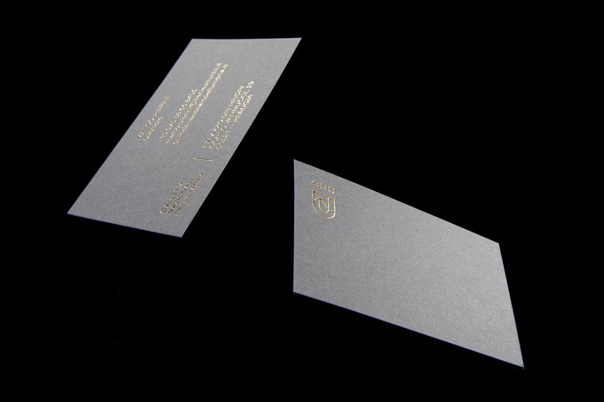 gold foil business cards. GNU — Galleria Nazionale dell\'Umbria on ...