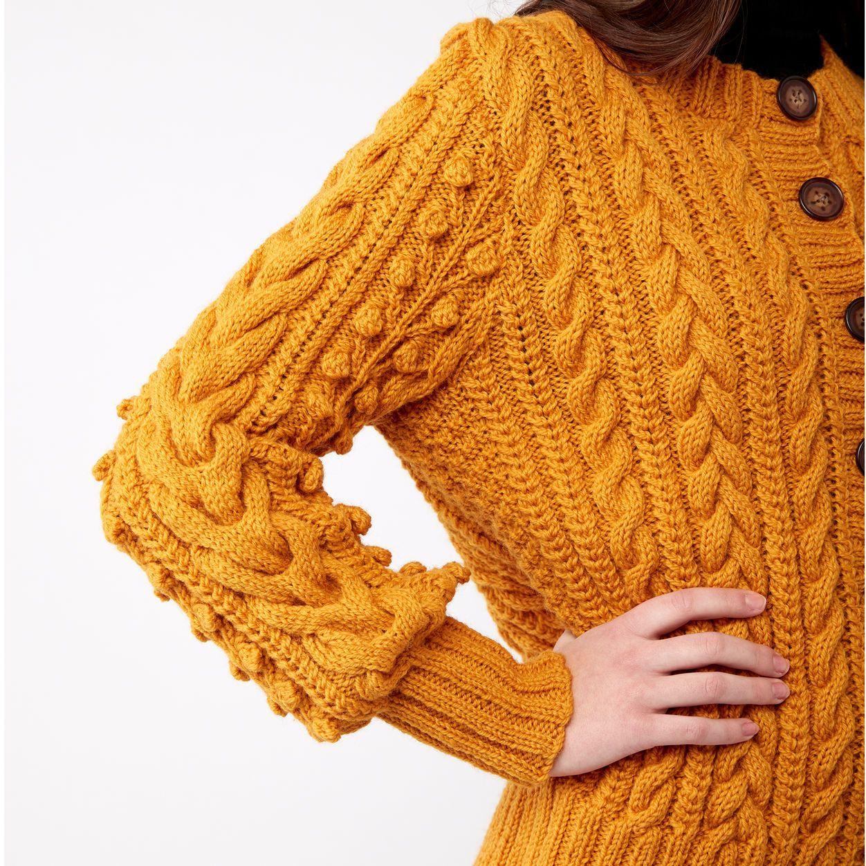 Patons Dovercourt Knit Cardigan Pattern | Yarnspirations ...