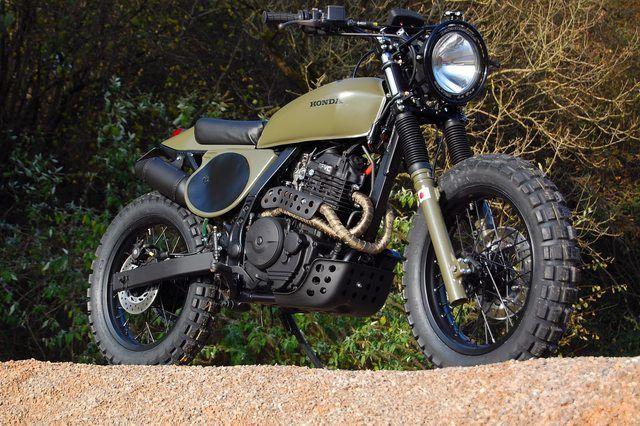 customizing a xl600r into a cafe racer/street tracker to ride