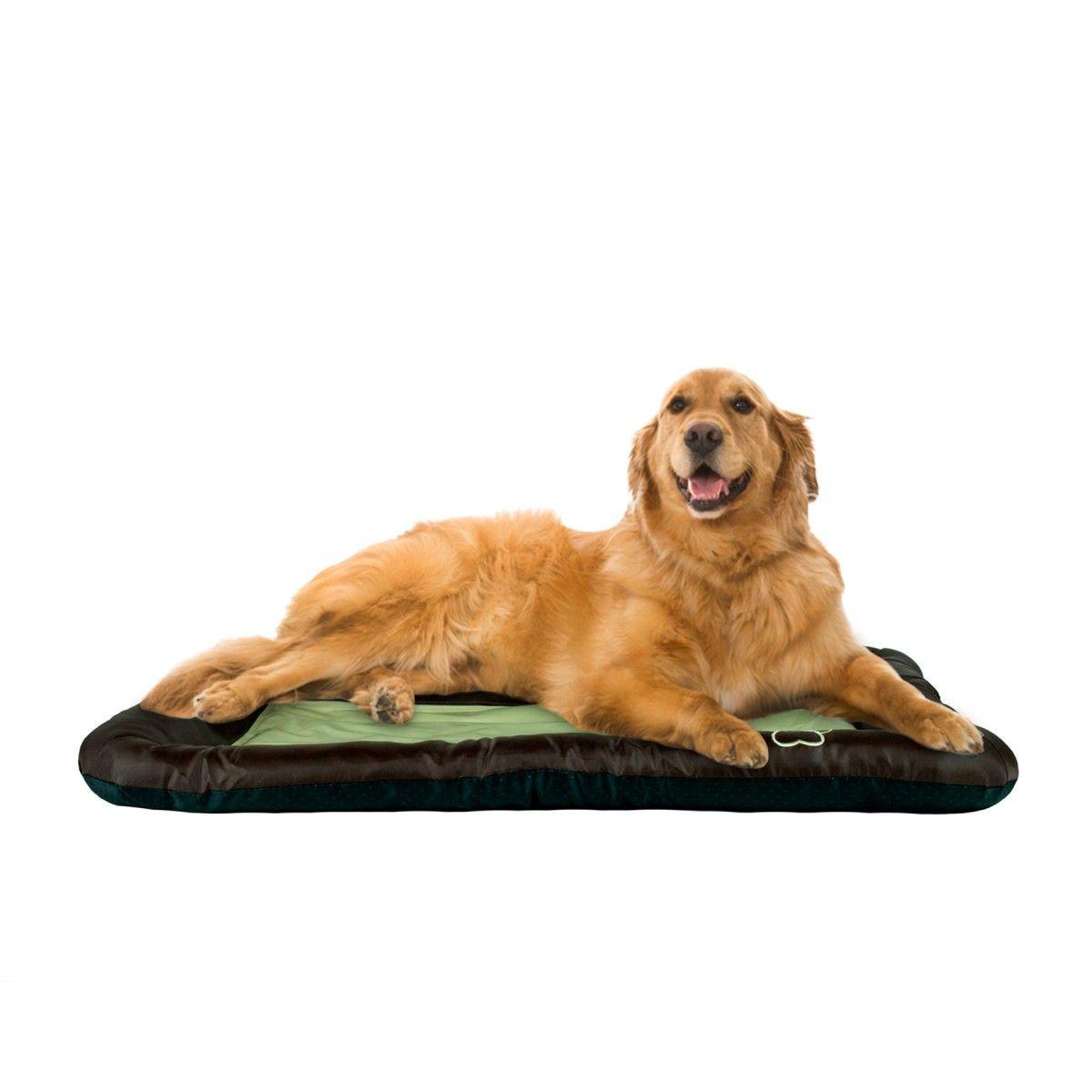 Beatrice Pet Cooling Crate Pad Dog Bed Mat 42 X 28 Brown And Taupe Pet Supplies Home Kitchen Greydock Com Dog Pet Beds Pets Pet Dogs