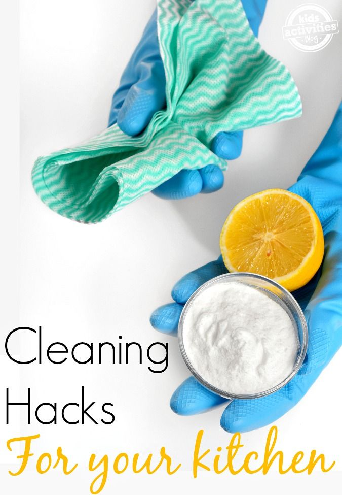 KITCHEN CLEANING HACKS | Pinterest | Kitchens, Organizing and Household