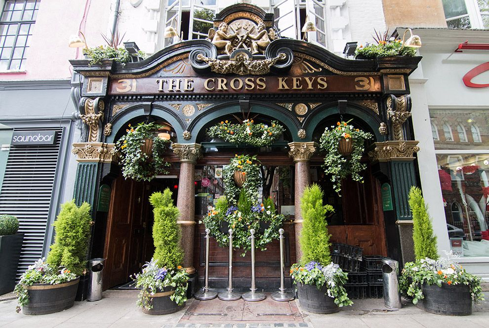 0825cf90bcec37f39ec34f1febeb86d7 - Central London Pubs With Beer Gardens