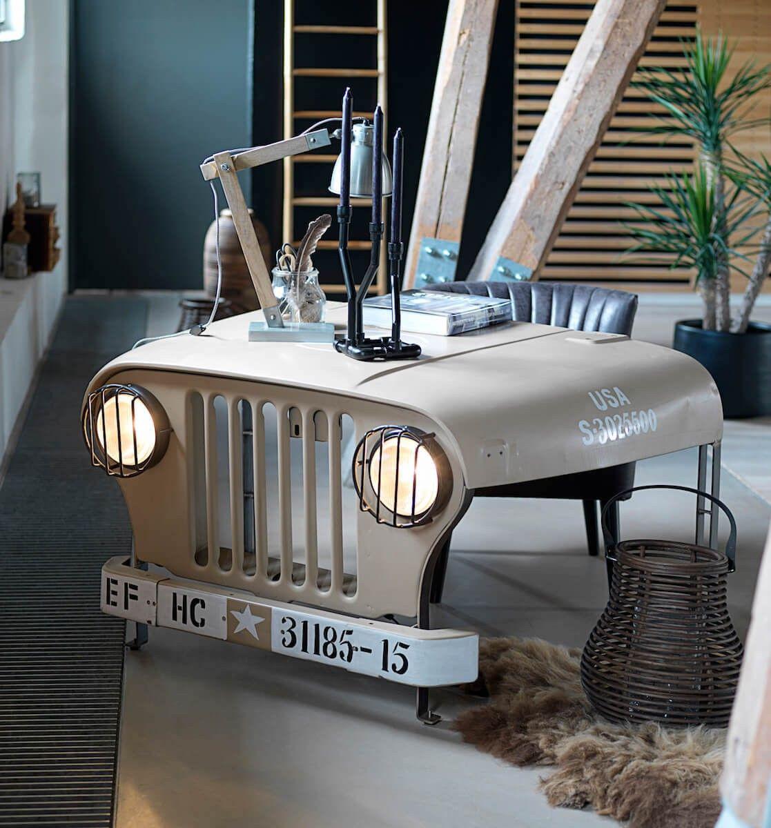 Etonnant Willys Jeep Desk Car Furniture, Automotive Furniture, Furniture Design,  Unique Furniture, Garden