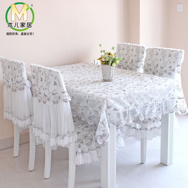 Embroidered Dining Table Cloth Tablecloth Table Cloth Placemat Gremial Rustic Table Pad Cushi Dining Table Cloth Dining Room Chair Slipcovers Dining Room Decor