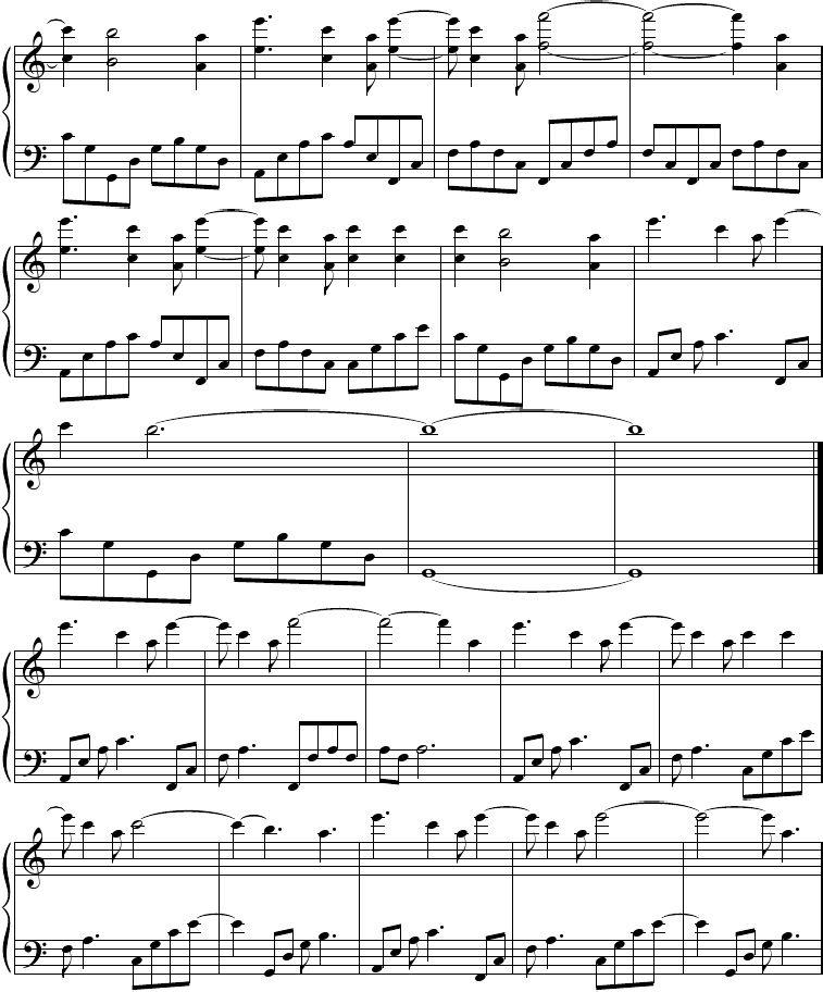 Pin By Magda De Bruyne On Makke T Piano Piano Sheet