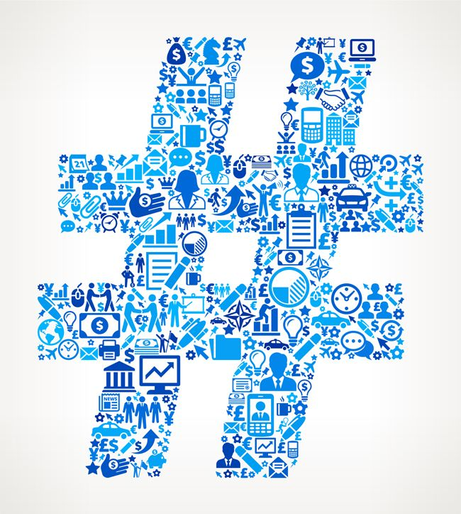 Use Authenticated Hashtags