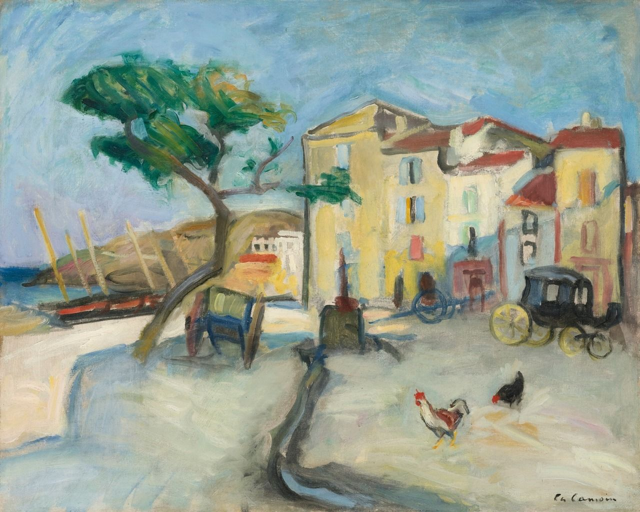 Charles Camoin  |   Port de Cassis, 1904