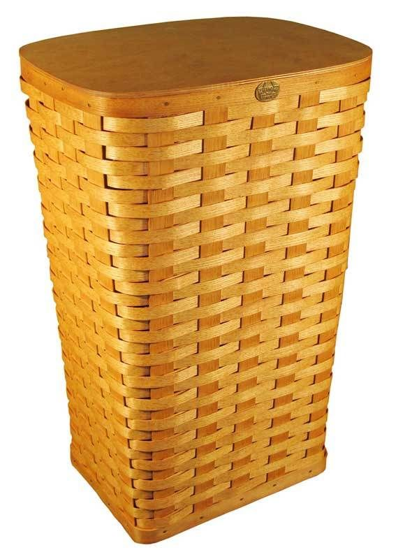Peterboro Tall Laundry Hamper And Waste Basket Laundry Hamper Waste Basket Hamper