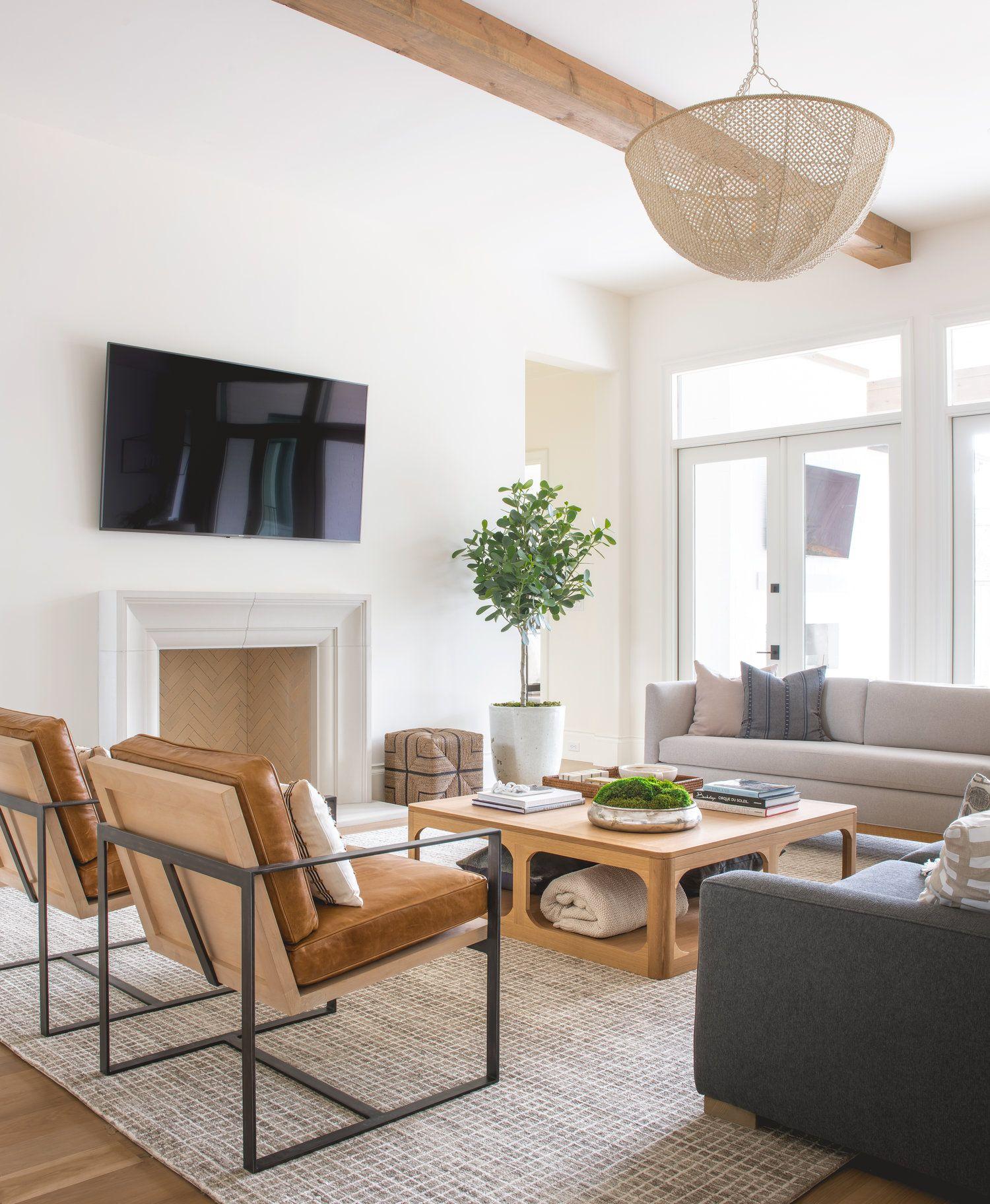 dallas — wdesignco   Living room leather, Formal living room decor ...