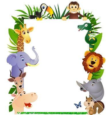 Animal cartoon frame vector 161662 - by dagadu on ...