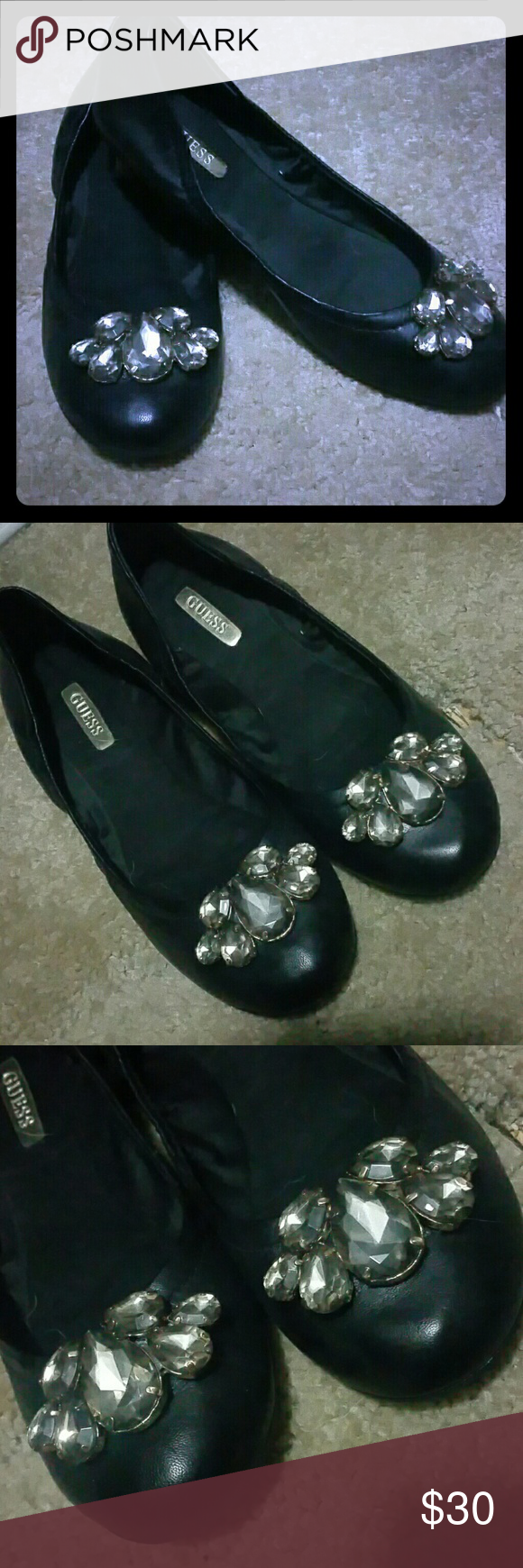 Guess Ballet Flats Never been used. Guess Shoes Flats & Loafers