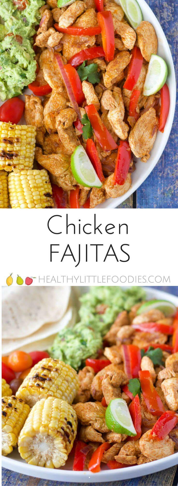 Chicken Fajitas   Recipe   Chicken fajitas, Delicious ...