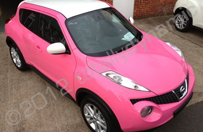 Incroyable Nissan Juke Vinyl Wrapped In Gloss Pink Car Wrap For Crystal Nissan,  Grantham By Totally