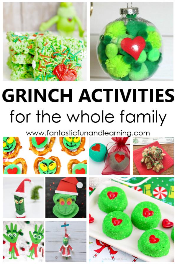 Grinch Activities in 2020 Fun christmas activities