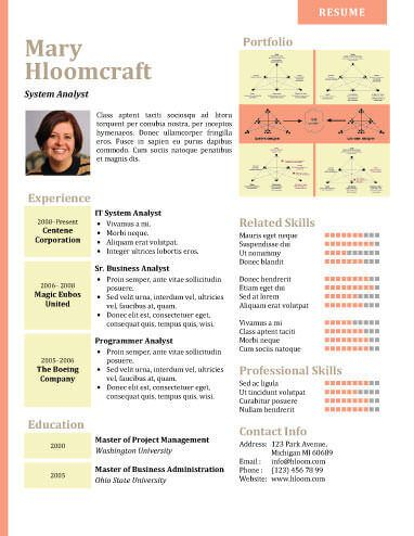Infographic Resume Templates  Ovim    Infographic