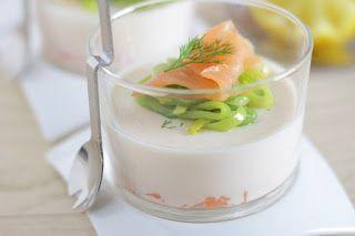 Aux délices de Géraldine: Panna cotta au saumon
