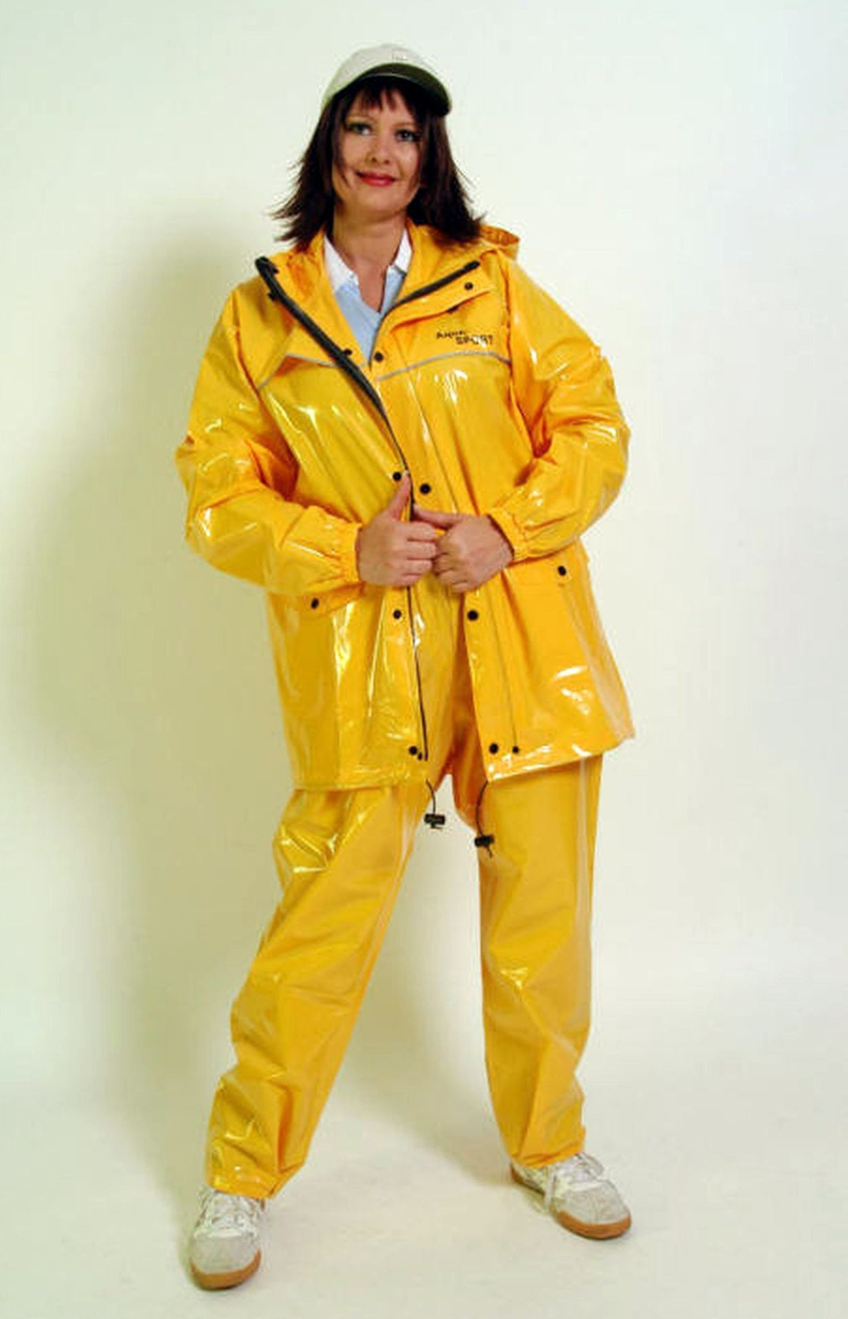 Pin By Davidbb On Rainwear Rain Wear Pvc Raincoat Yellow Raincoat