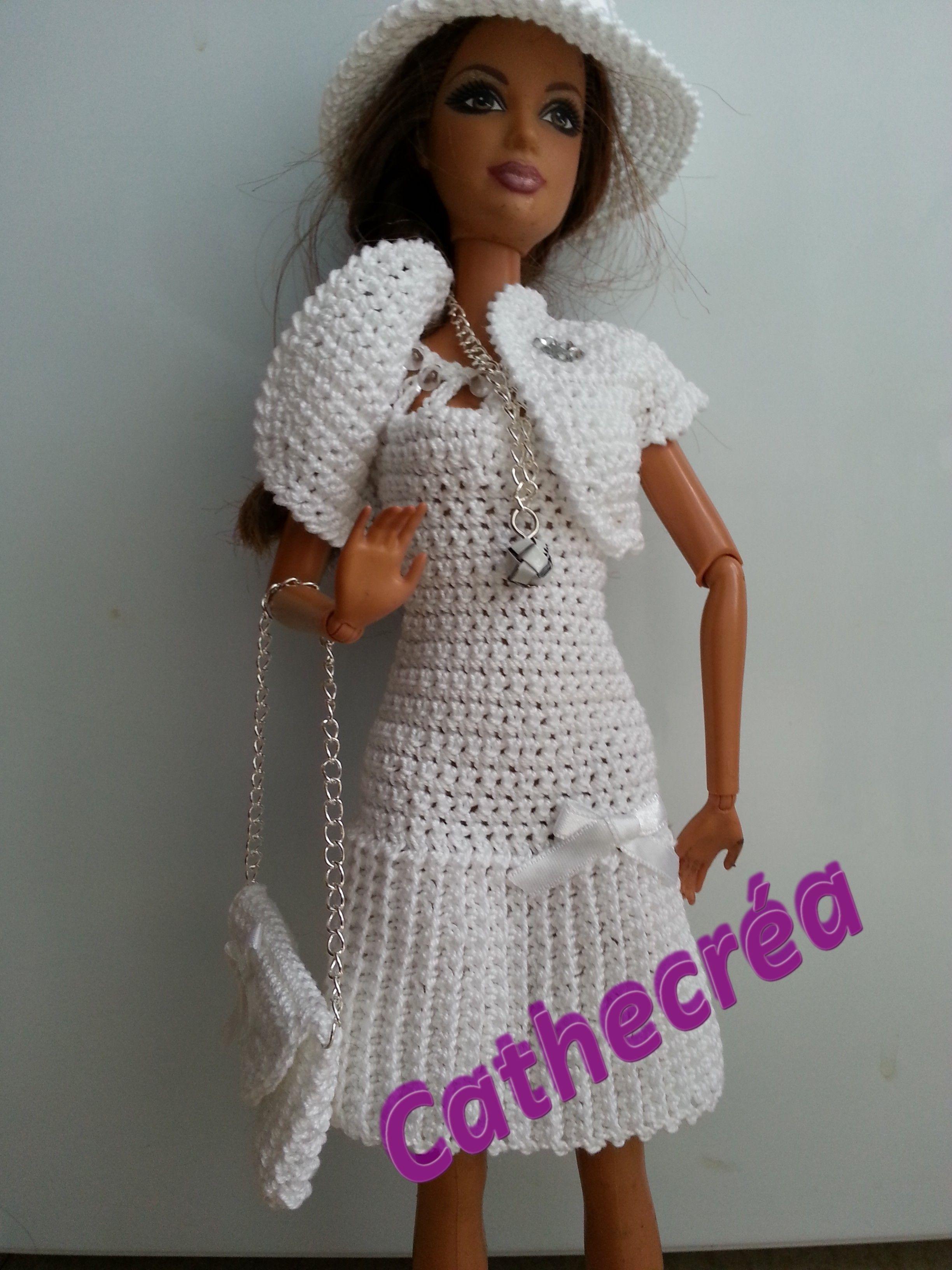 Dorable Los Patrones De Crochet Libre Para 18 En Ropa Para Muñecas ...