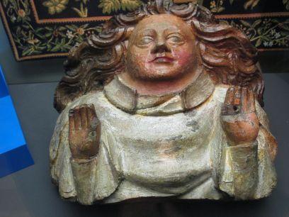 medieval carved oak boss
