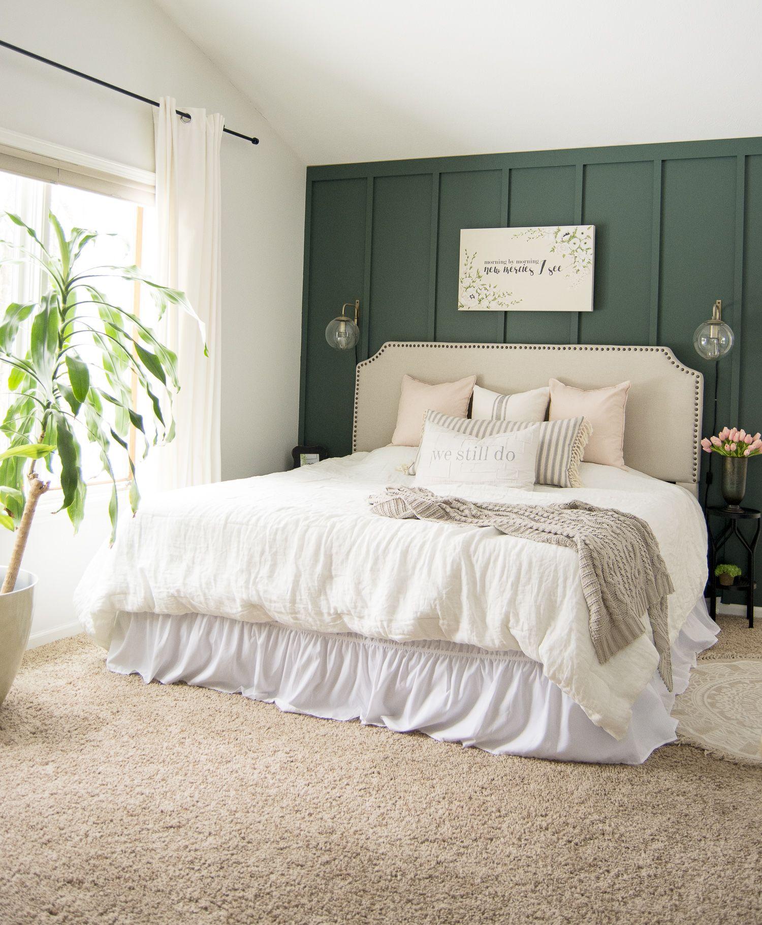 Key Elements of a Modern Farmhouse Bedroom Farmhouse