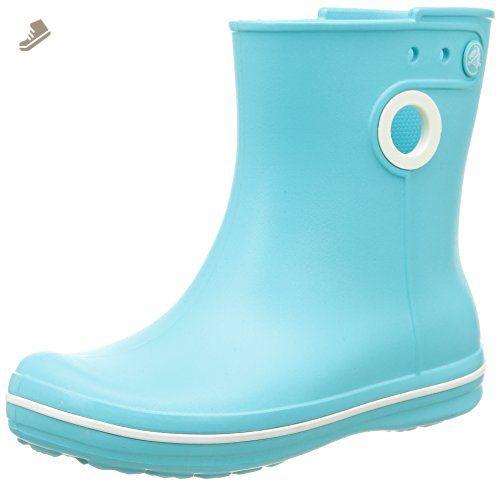 crocs jaunt shorty women's rain boots